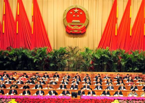 组图:北京人大闭幕了