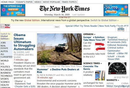 读《纽约时报》至少有六种方式