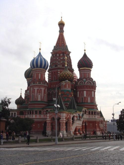 """莫斯科红场""""奇遇""""记"""