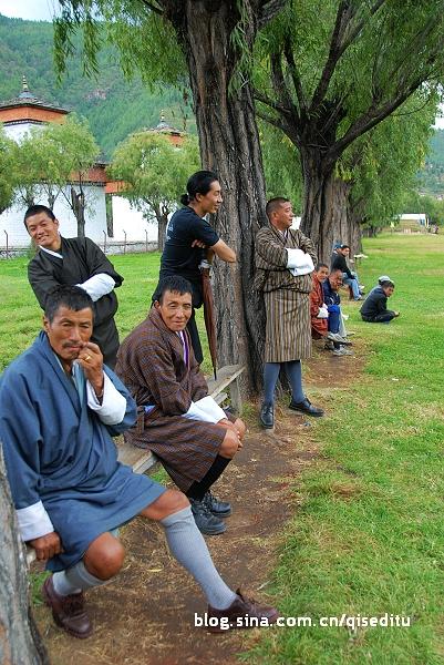 不丹男人快乐的源泉
