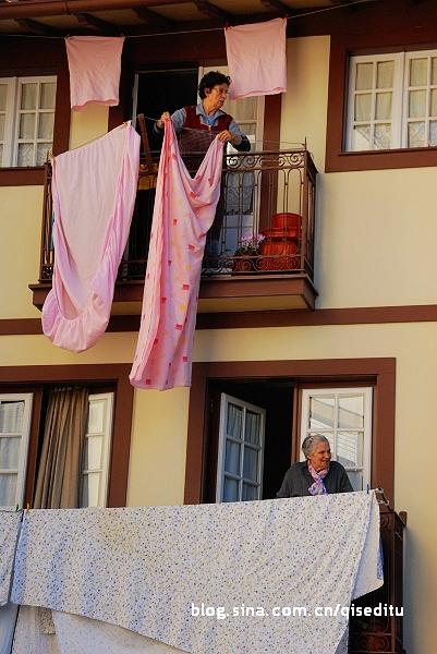 葡萄牙人窗头斗艳