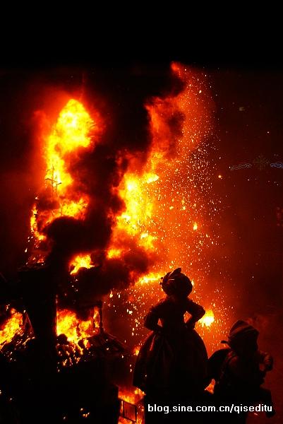 瓦伦西亚,火光之夜