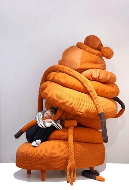 创意十足的怪物沙发