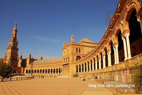 西班牙的三个西班牙广场