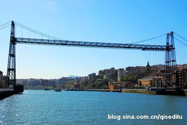 【西班牙】在维斯盖亚桥上看风景