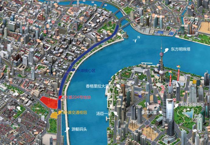 SOHO中国进驻上海外滩