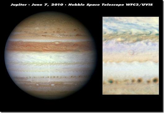 """哈勃望远镜找到了木星遗失的""""带子"""""""