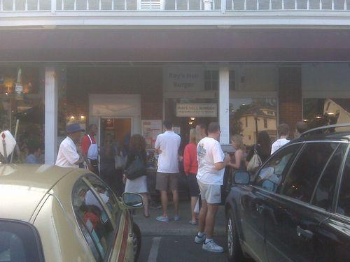 参观奥巴马钟情的汉堡店