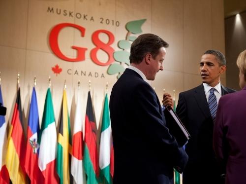 从G8首脑遛弯儿产生的瞎想