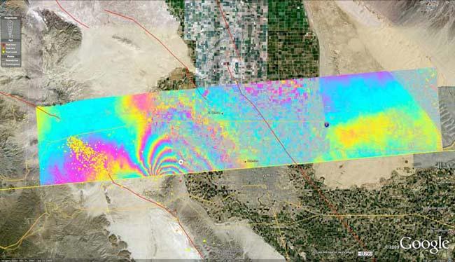4月加州地震令城市移动78.7厘米