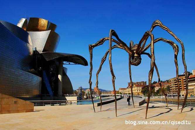 【西班牙】古根海姆博物馆,真是酷毙了