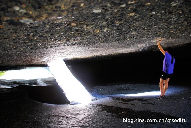 【广元】苍王峡,天生18个仙人洞