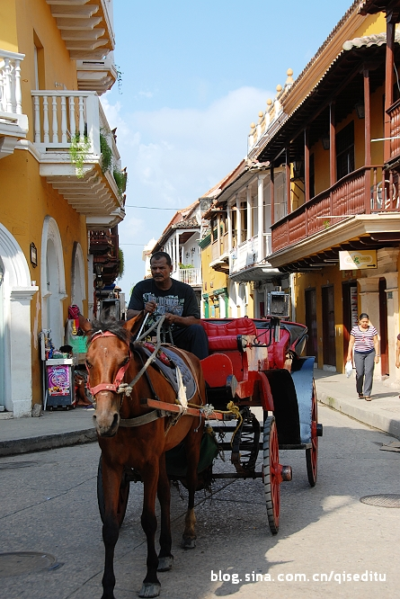 美洲 哥伦比亚 玻利瓦尔省 卡塔赫纳市 卡塔赫纳港口、要塞和古迹群 - 西部落叶 - 《西部落叶》· 余文博客