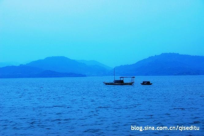 天目湖,水墨风景入梦来