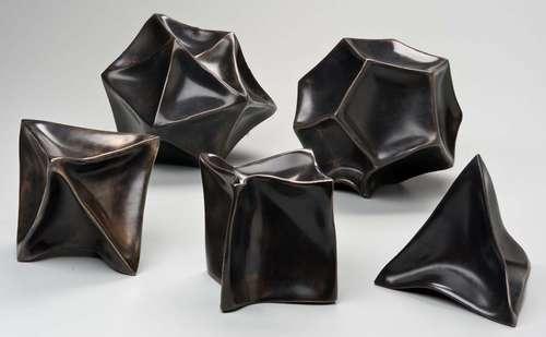 Julian Voss-Andreae的雕塑:量子物体