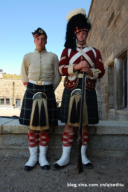 【加拿大】哈利法克斯,城堡大兵服装秀