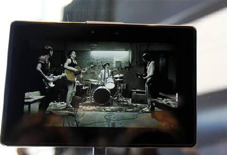 RIM发布PlayBook剑指iPad