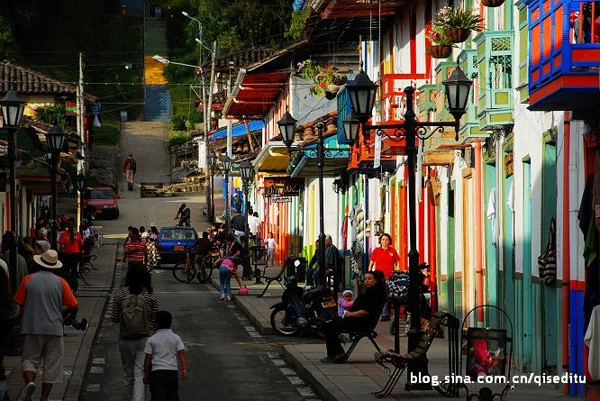 【哥伦比亚】安第斯小镇苏莲托