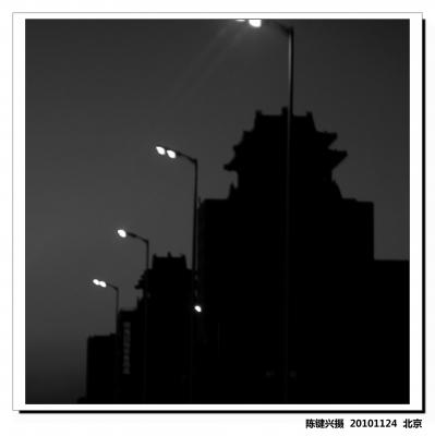 【2010北京影像】冬日黄昏(CANON G10)