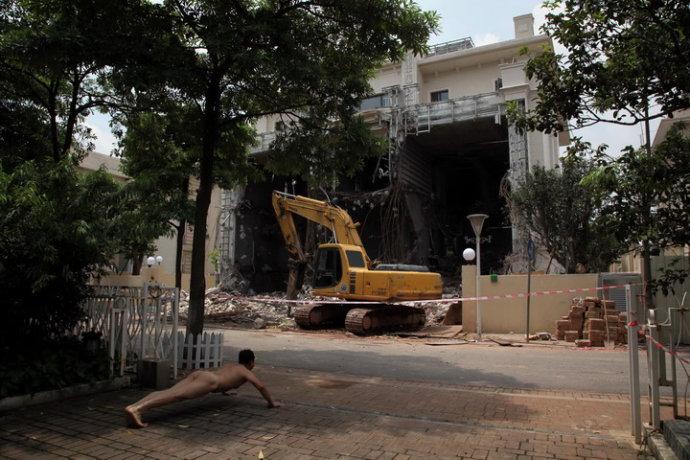 《那一刻》宏城花园别墅强拆事件