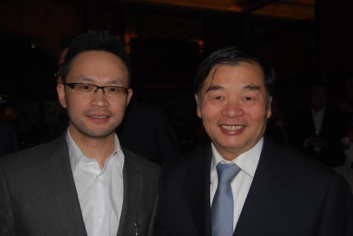 感谢工信部杨学山副部长的关怀与鼓励
