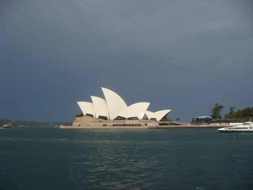 悉尼歌剧院遐想