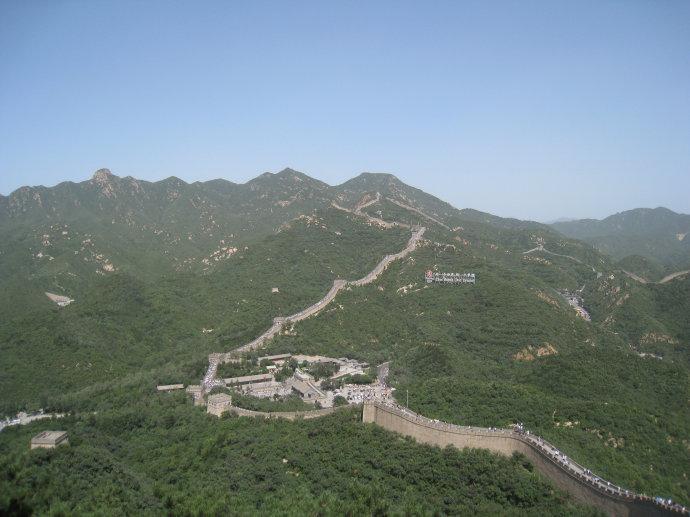 八达岭长城-景山公园-故宫博物院