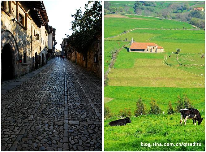 【西班牙】走在坎塔布利亚的乡间小路