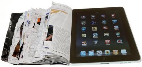 杂志iPad热降温