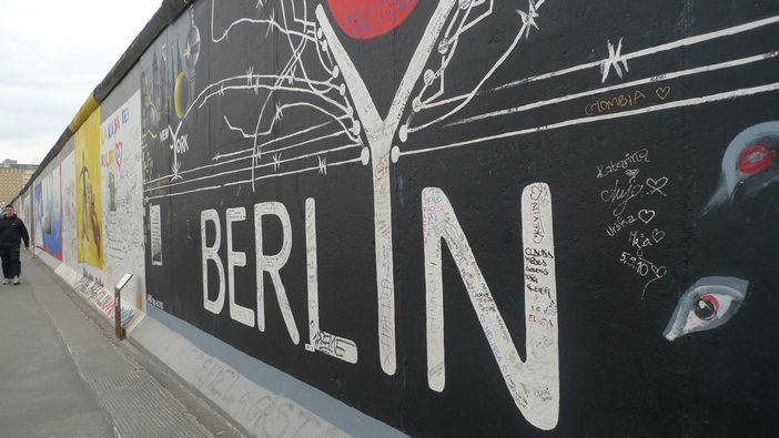 直面柏林墙
