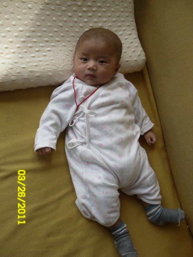 我家儿子有点像少林小沙弥