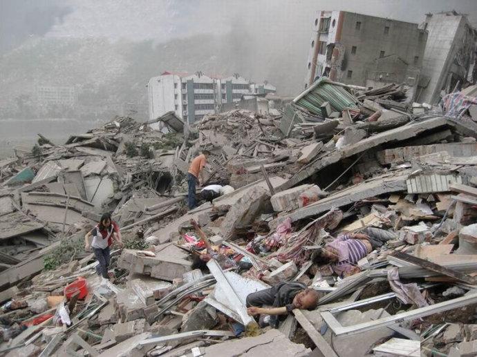 痛心:中国地震死亡世界第一