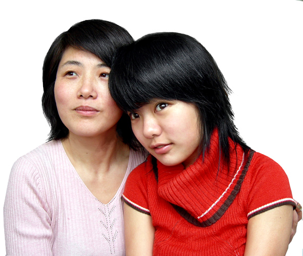 我妈和蒋美丽