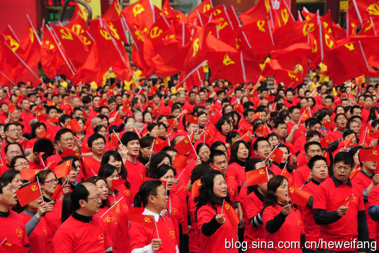 China's 'red culture' revival unwelcome reminder to&nbs