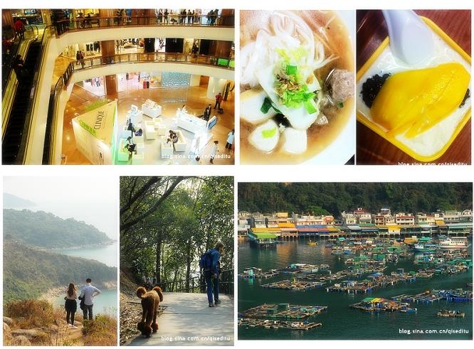 香港的长周末(二),海港城与索罟湾