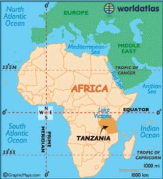 在坦桑尼亚发现了古代人类的脚印化石
