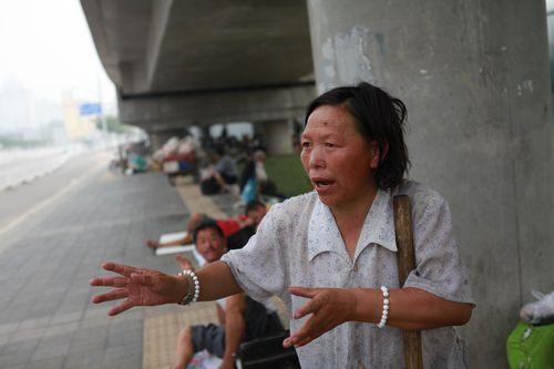2011北京南站—上访者