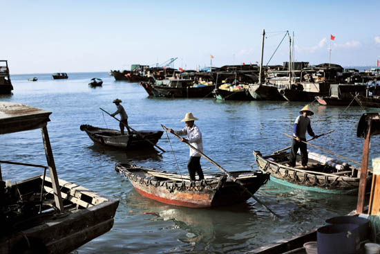 外沙桥附近的码头,就是警方认定的抛尸处