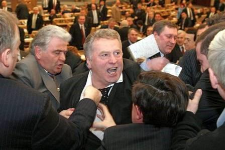 各国议会打斗纪实照片