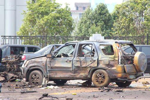 钱明奇爆炸案16官员受严处。