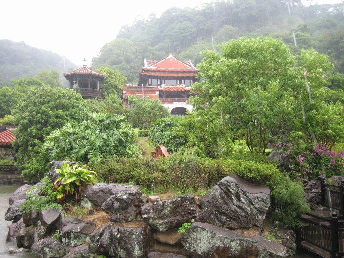 幽雅恬淡的台湾南园
