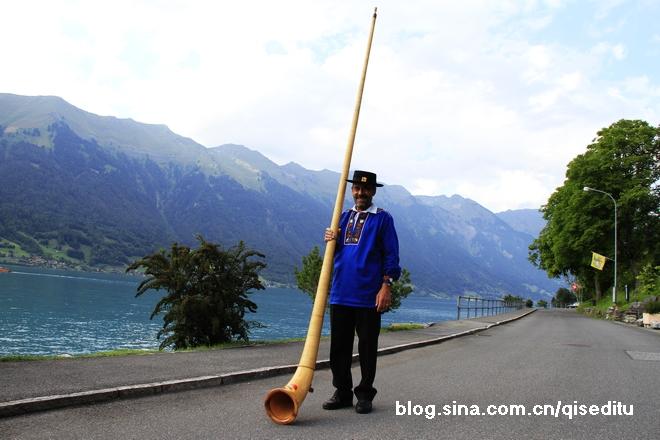【瑞士】布里恩茨湖边的小渔村