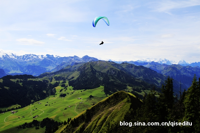 【瑞士】石丹峰:山顶的欢歌