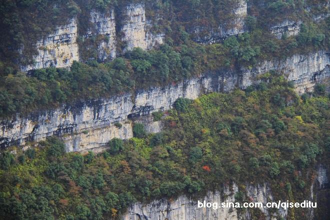 峨眉之秋,层林尽染的美丽