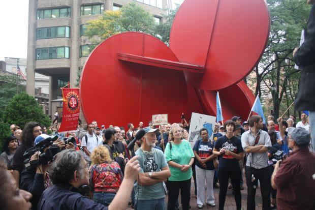 占领华尔街(一):抗议警察暴力