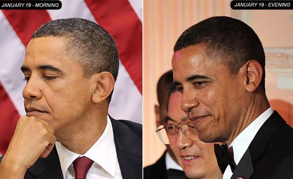 奥巴马的头发