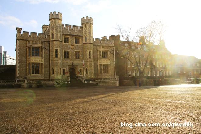 【英国】伦敦塔,一个金色的清晨