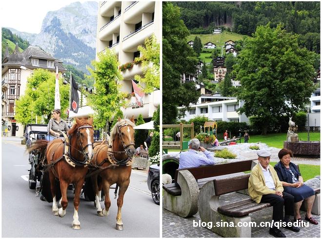 【瑞士】英格堡,雪山环绕的天使之乡