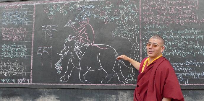 [转载]青藏高原的教育奇葩——吉美坚赞学校