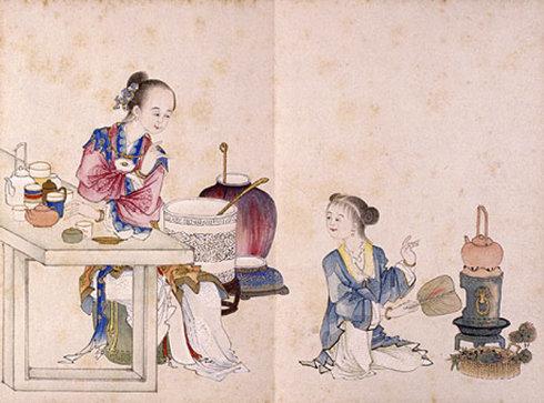 茶、瓷、丝的三位一体——华夏帝国的器物贸易